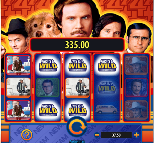Anchorman the Legend of Ron Burgandy slot review
