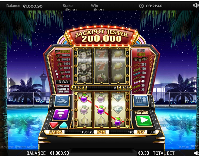 Jackpot Jester 200.000 Slot Review