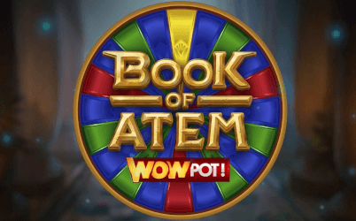 Book of Atem WOWPOT Slot Casino Review
