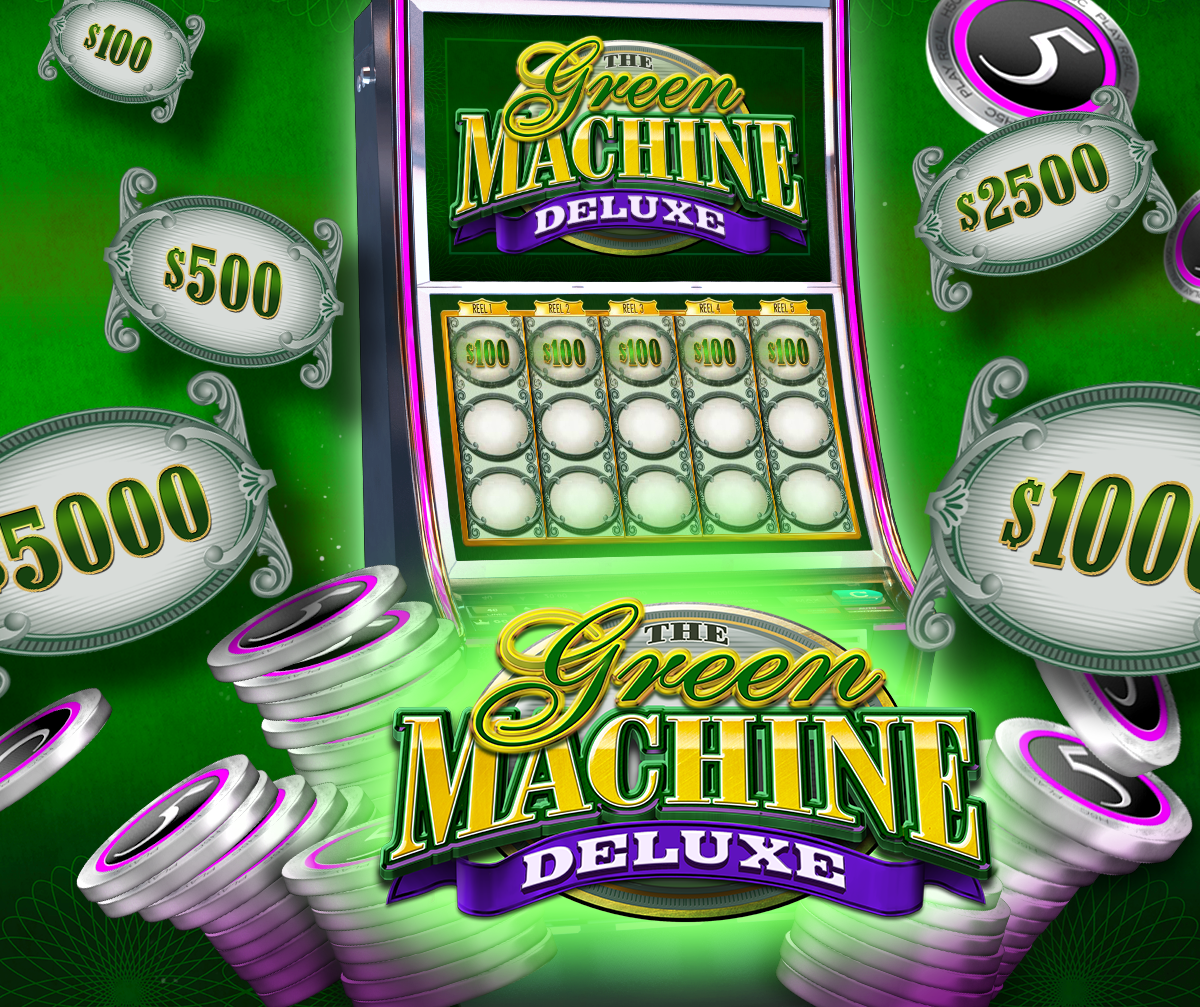 Green Machine Deluxe Casino Slot Review